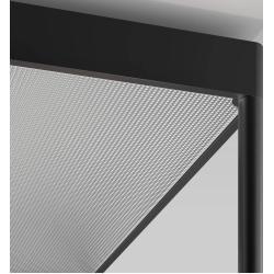 serien.lighting Reflex² Ceiling M 600 Deckenleuchte weiß Reflektor Pyramidenstruktur weiß Dali dimmb
