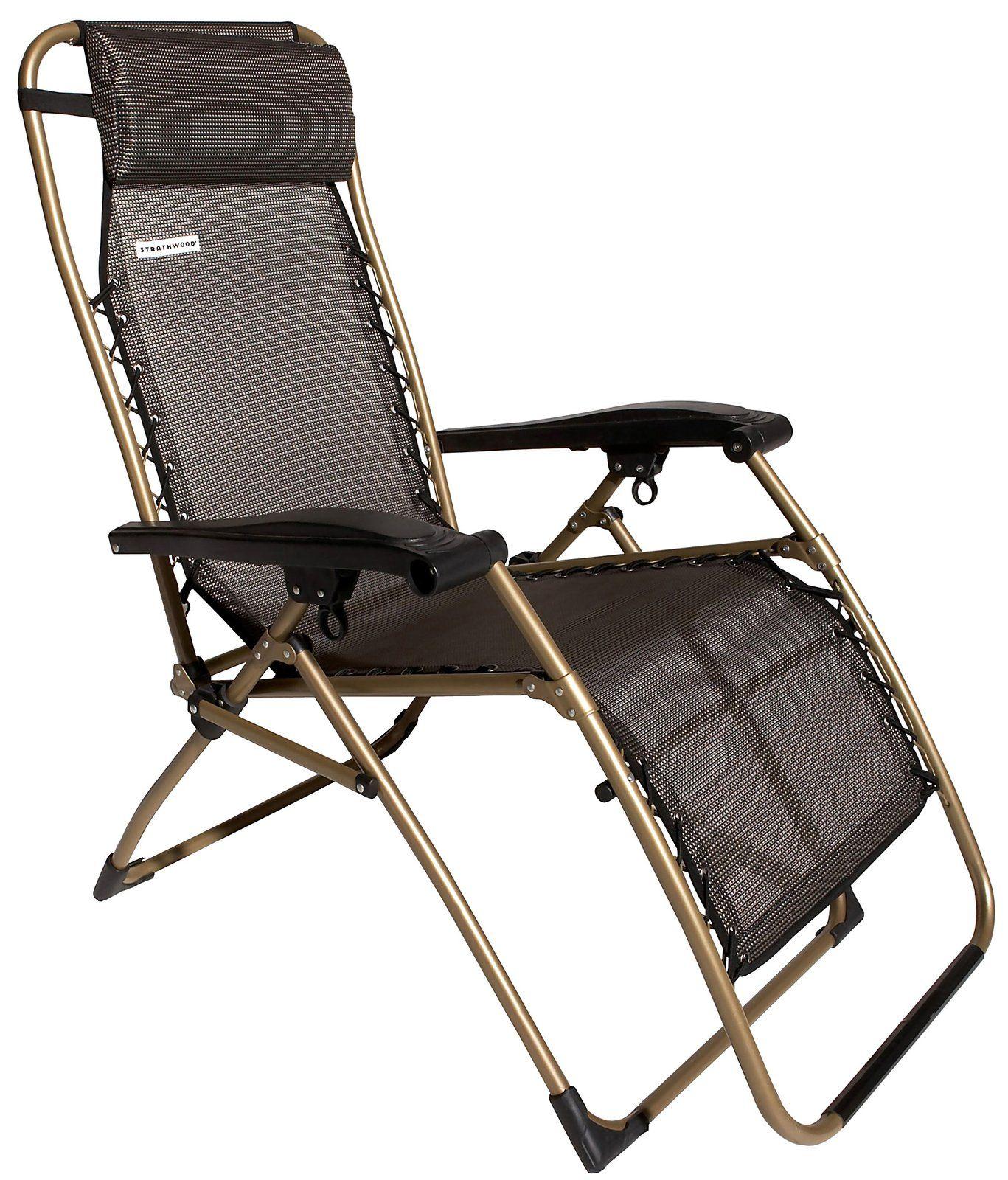 off antigravity adjustable recliner chair dark brown