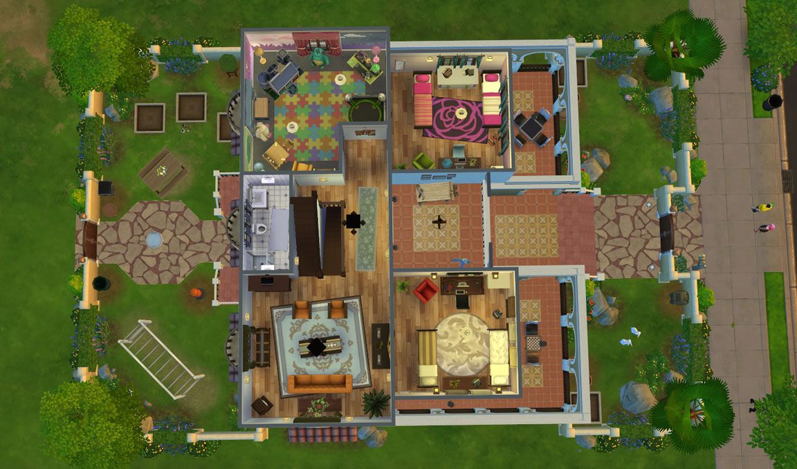 casa martina floor plan third floor | sims | pinterest | sims