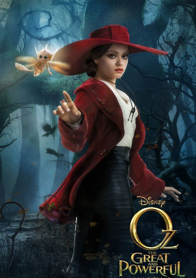 2019 year look- Fashion: Movie oz the great and powerful