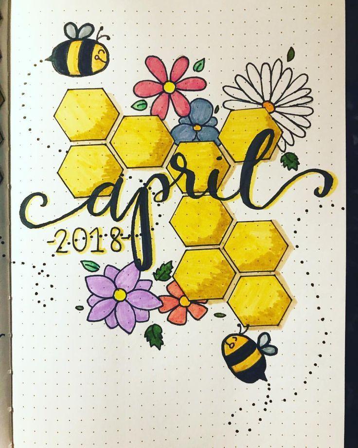 Be-you-tiful April 2018 bullet journal spread | bullet journal spreads |  bulletjournal |  aprilbujo |  bujoaddict |  bujo