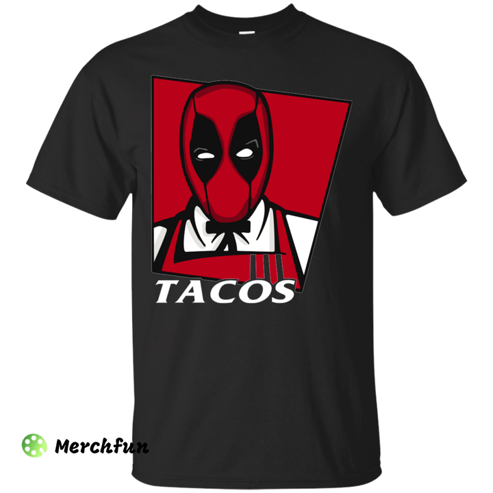 Deadpool Taco KFC Shirt Merchfun in 2020 Deadpool