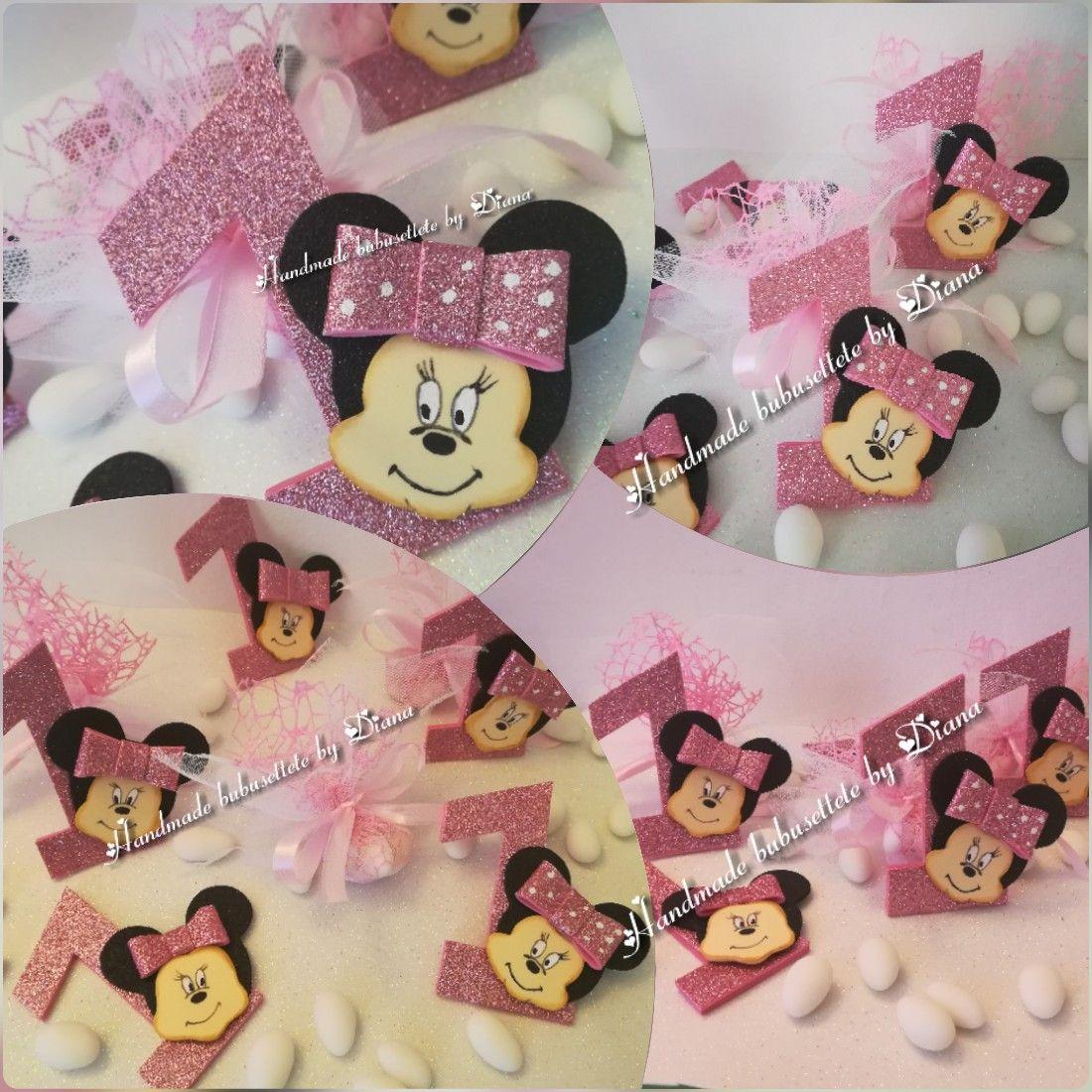 Bomboniere Minnie Primo Compleanno Bomboniere Primo Compleanno Compleanno