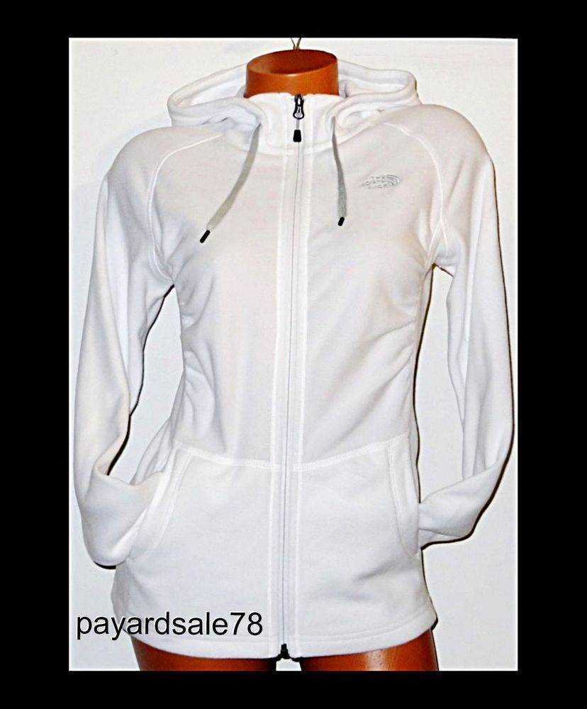 Women S Size Large The North Face White Fleece Jacket Full Zip Hoodie Polartec Thenorthface Fleecejacket North Face Jacket Womens North Face Jacket Jackets [ 1000 x 828 Pixel ]