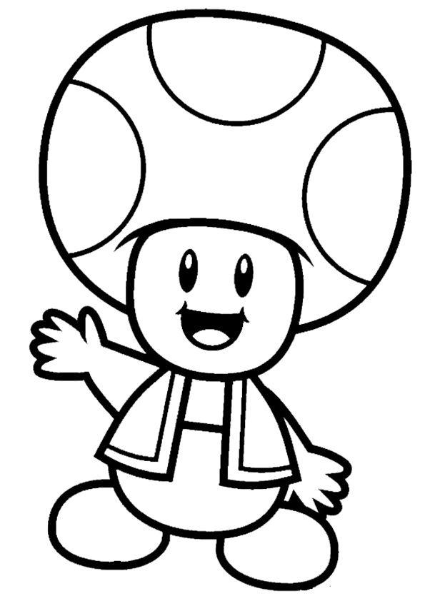 Mario Ausmalbilder 03 Game Characters Ausmalbilder Malvorlagen