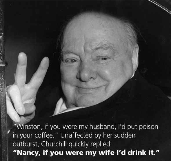 Winston Churchill Love Quotes Fair I Just Love This Quotewinston To An Overbearing Woman In