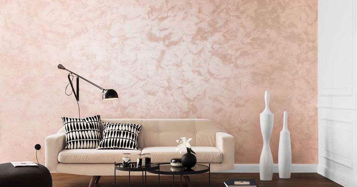 Der Wow Look Fur Dein Zuhause Wande Mit Edlem Schimmer Eine Spezielle Farbe Macht Es Moglich Die Technik Ist Ganz Leic In 2020 Wohnen Schoner Wohnen Wande Streichen