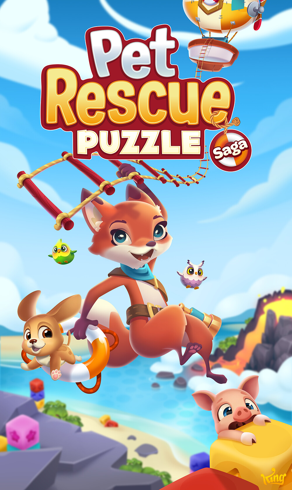 Artstation Pet Rescue Puzzle Saga Content Creation And Art Direction Elin Andersson In 2020 Animal Rescue Pet Rescue Saga Pets