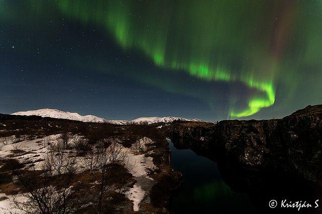 Aurora Borealis, Northen Light... Taken on February 9, 2014.