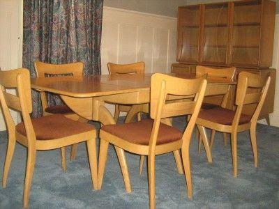 Ordinaire Heywood Wakefield Dining Room Set Value