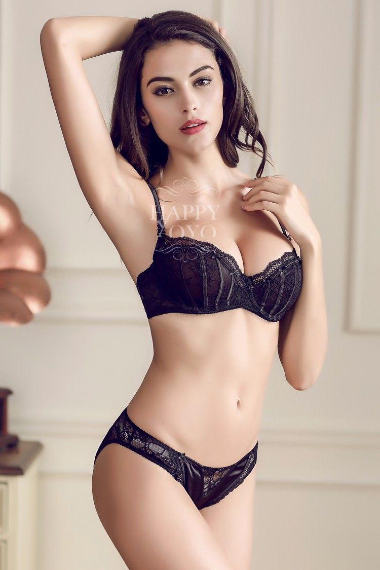 Franceacutes ropa interior de mujer pink lace bra set gasa - Ropa interior de mujer de encaje ...