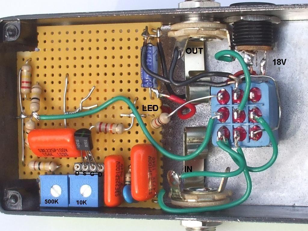Build Your Own Ep 3 Echoplex Preamp Pedal Valvestorm Diy Guitar Pedal Electronics Projects Diy Guitar Pedals