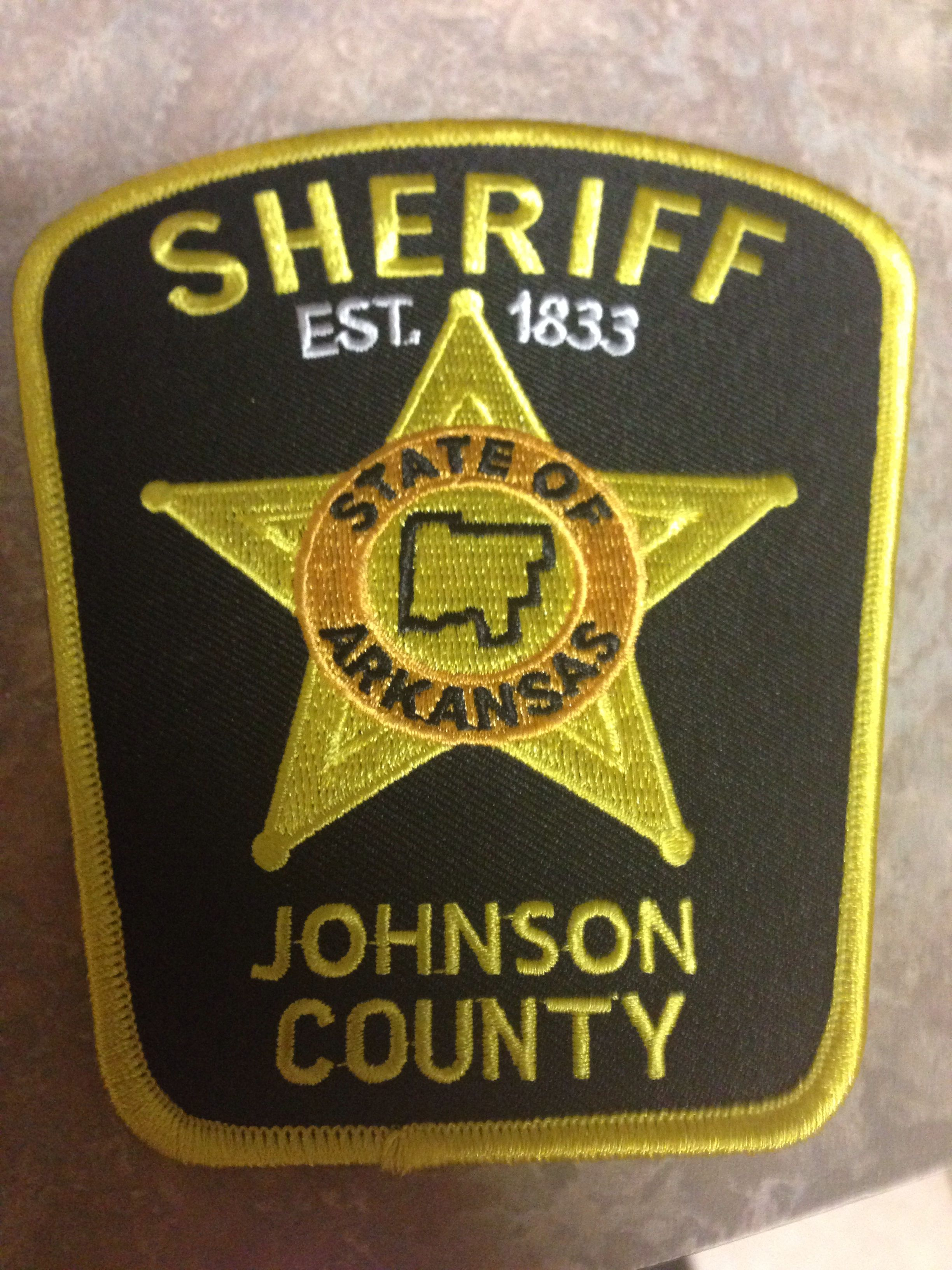 Johnson County Sheriff's Office Police patches, Sheriff