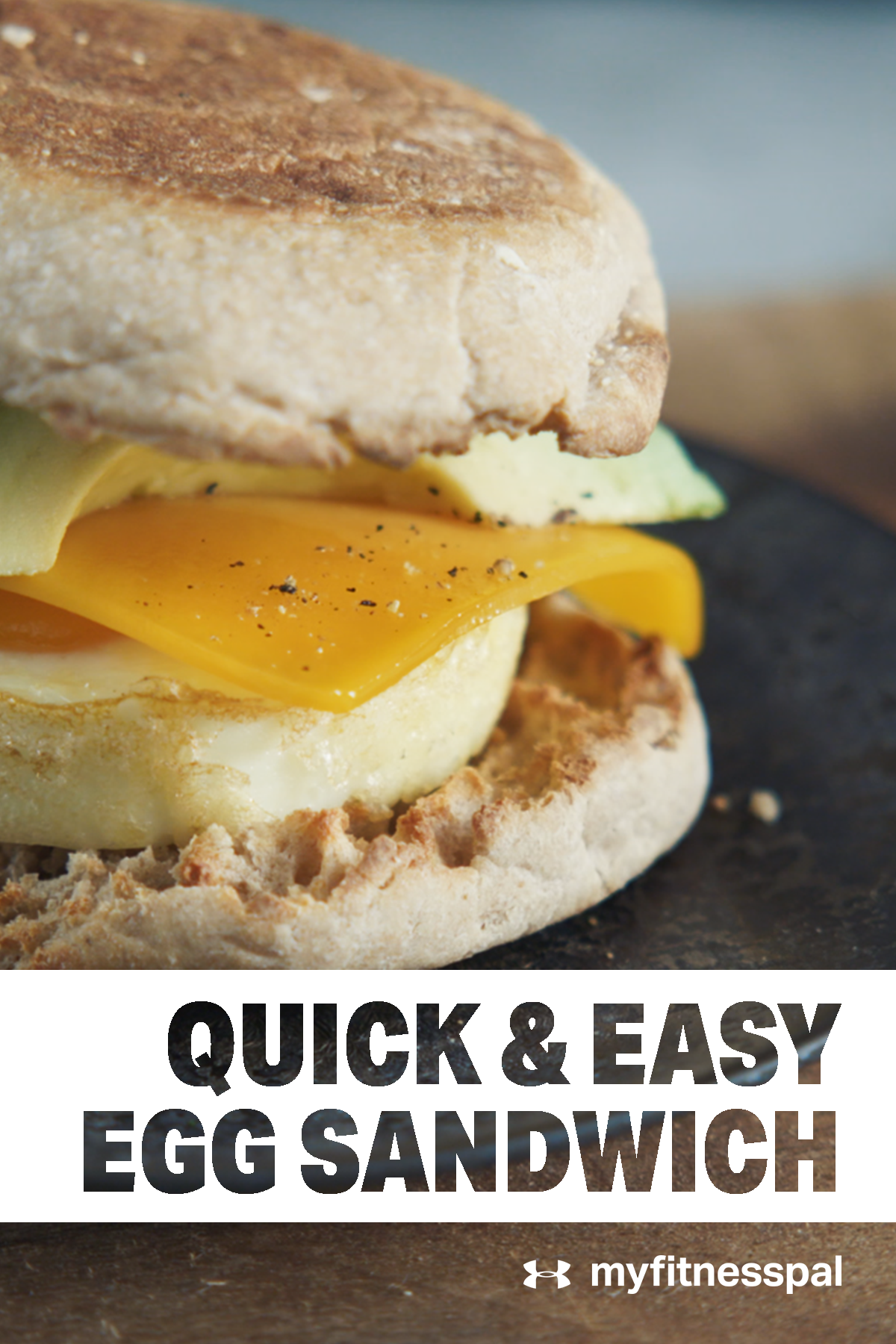 4 Ingredients = The Easiest Egg Sandwich Ever - Quick. Simple. Delicious. Need we say more? Check out the recipe on myfitnesspal.