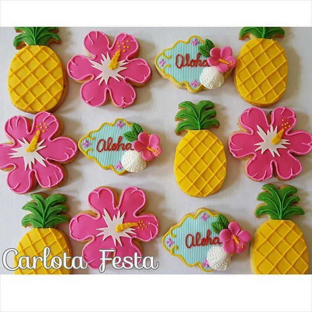 Festa Havaiana Para Ana Clara...