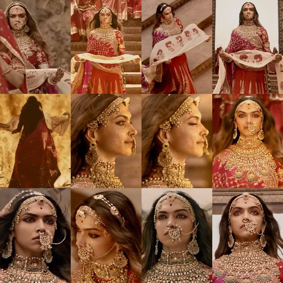 Padmaavat Padmavati 2018 Deepika S 25th Film And Last One For Now Indian Bride Outfits Bridal Jewellery Indian Deepika Hairstyles