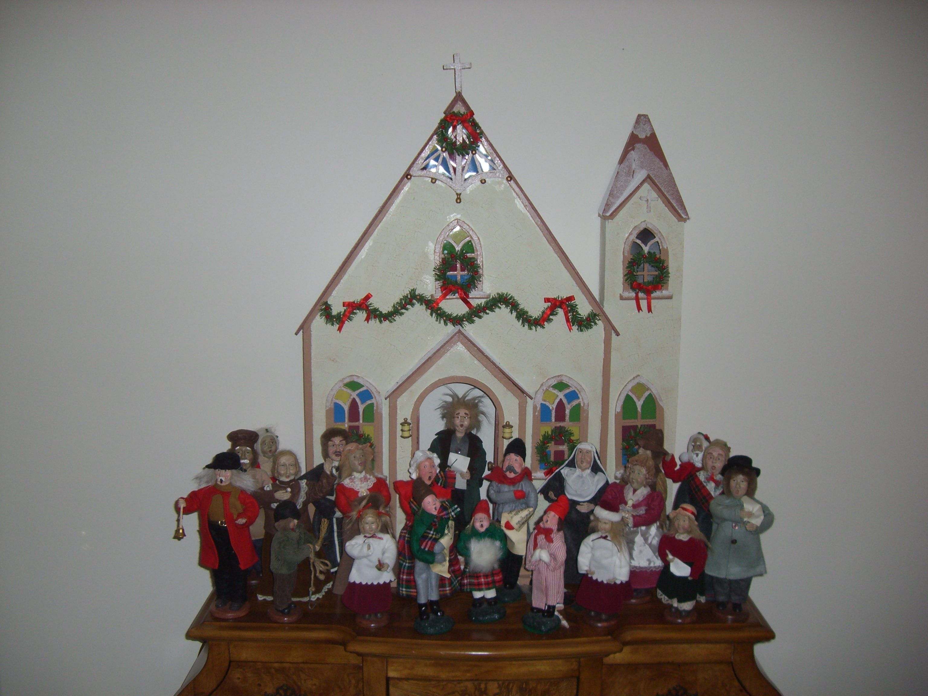 Church choir close up extreme christmas decorating pinterest