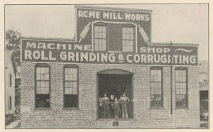 [Acme Mill Works] :: Textiles, Teachers, and Troops - Greensboro 1880-1945