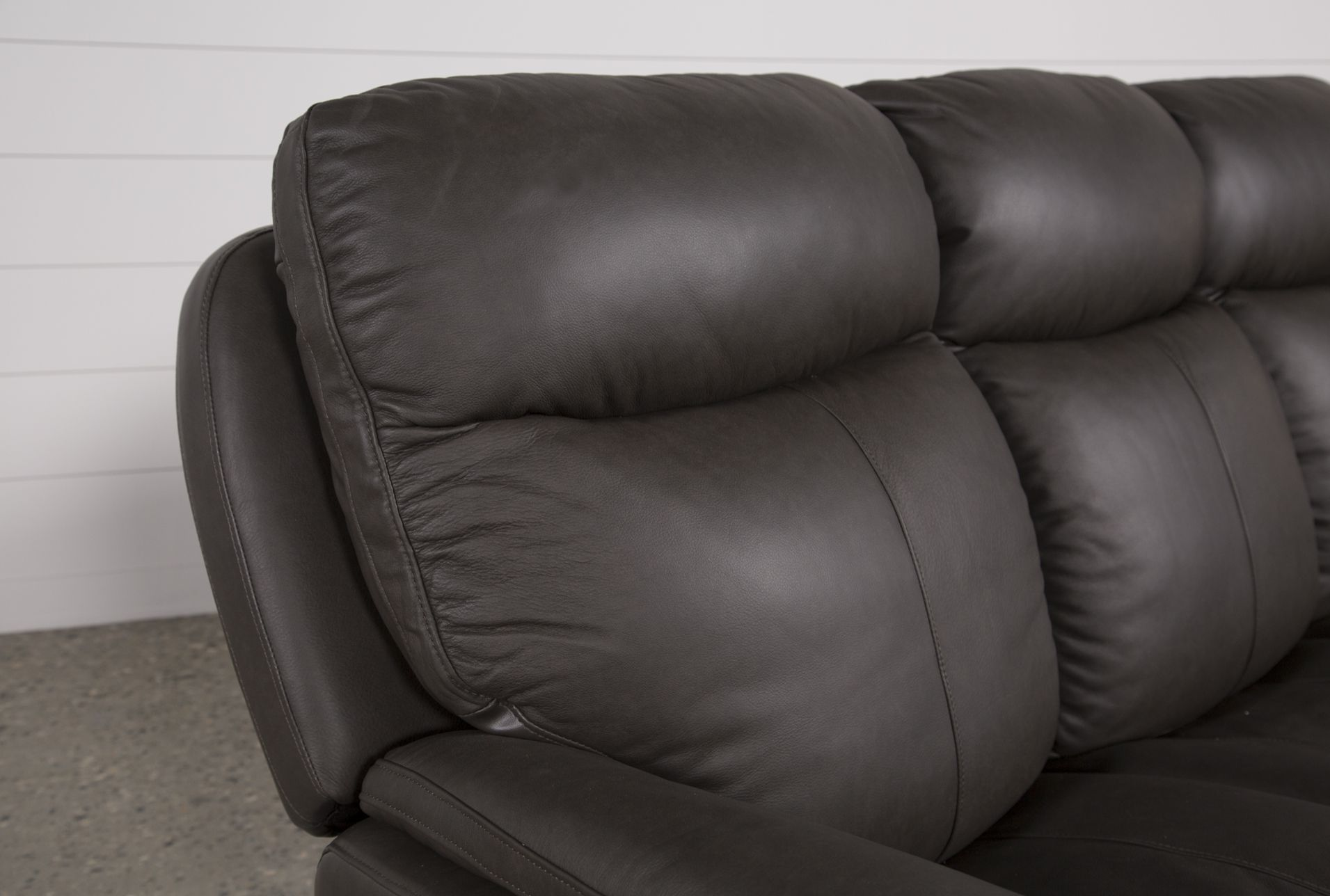 Phenomenal Bowie Leather Power Reclining Sofa W Power Headrest Caraccident5 Cool Chair Designs And Ideas Caraccident5Info