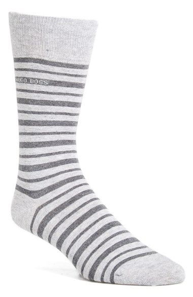 BOSS 'Marc' Stripe Socks