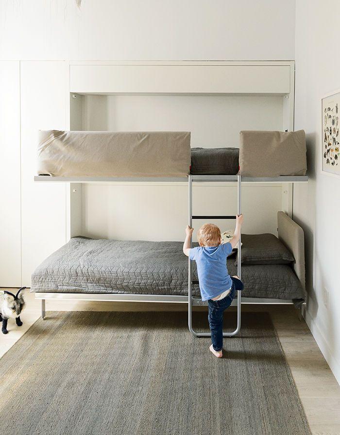 Una vivienda pequeña para una gran familia: desde el suelo hasta las ...