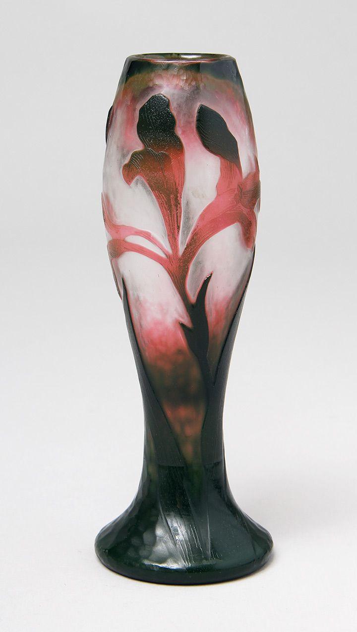 Daum nancy floral martel vase galle daum pinterest chasen antiques french glass daum nancy for sale floridaeventfo Images