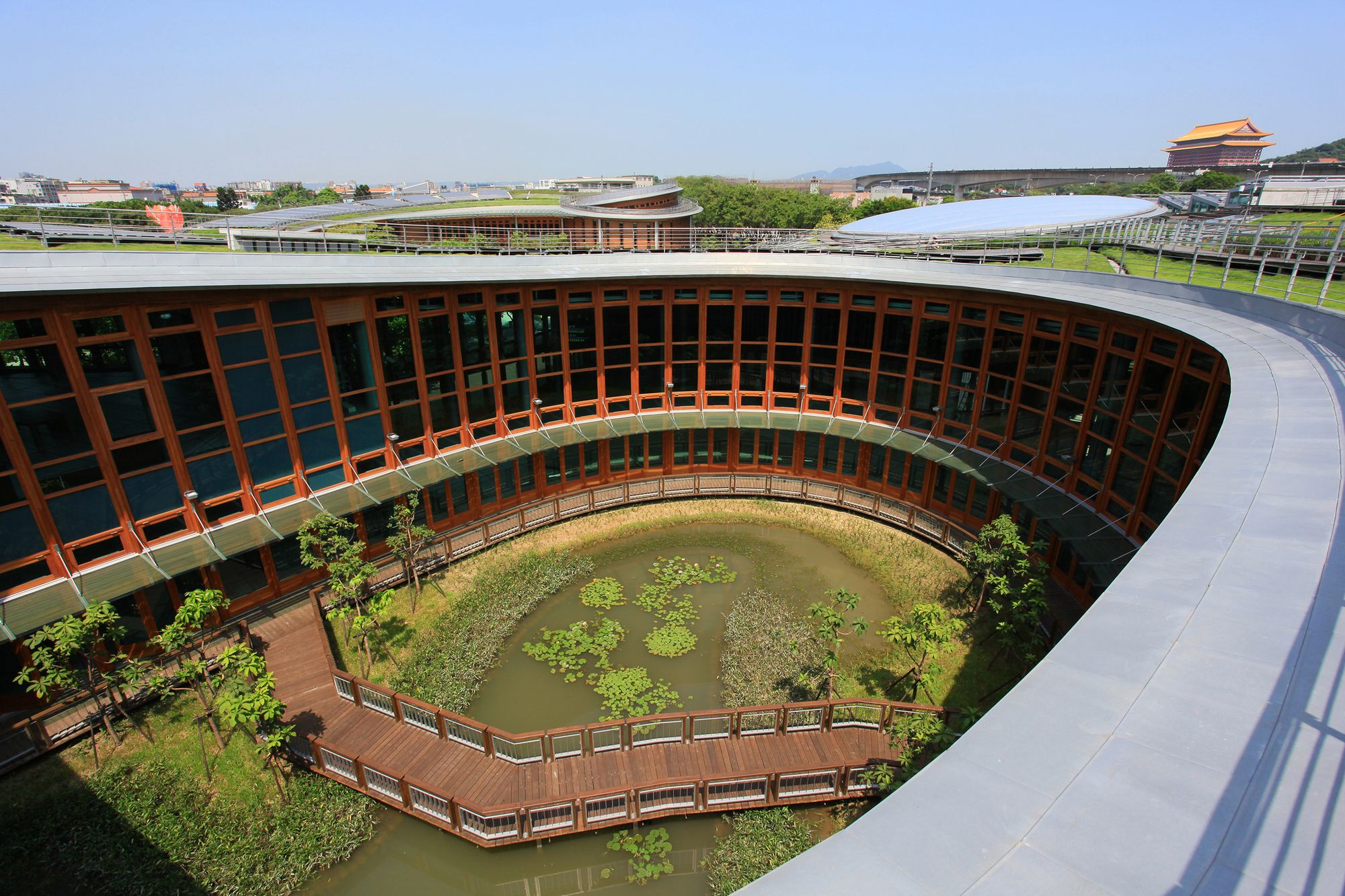 Pabellones de la Expo Taipei Flora / Bio-architecture Formosana