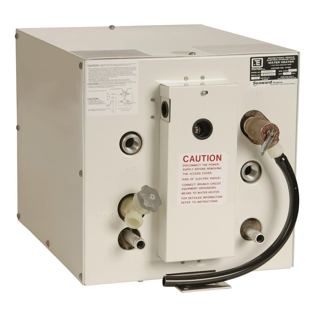 Whale Seaward 6 Gallon Hot Water Heater W Front Heat Exchager White F600w Hot Water Heater Heat Exchanger Water Heater
