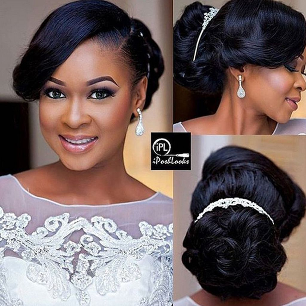 Cool 75 Easy But Cute African American Wedding Hairstyles Ideas To