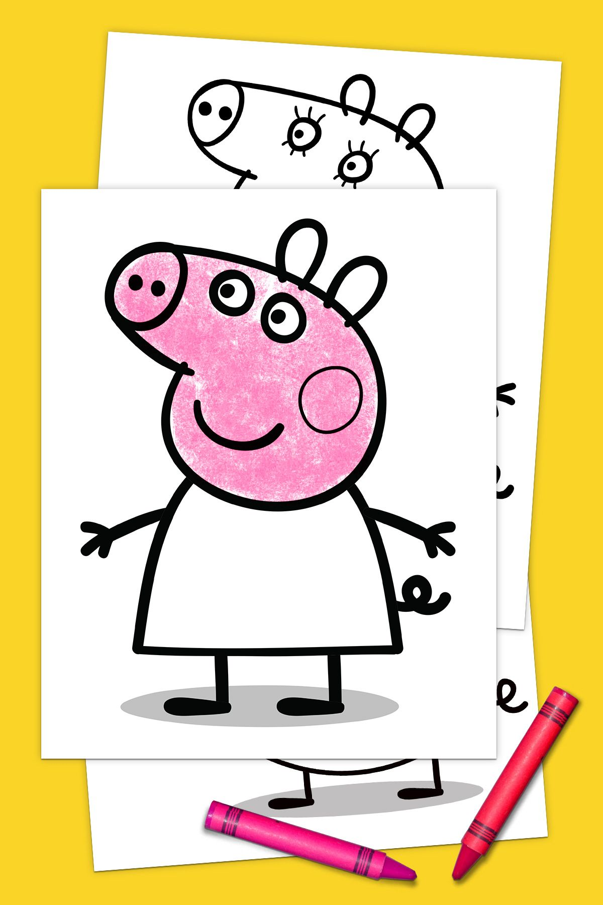 Your Exclusive Peppa Pig Coloring Pack