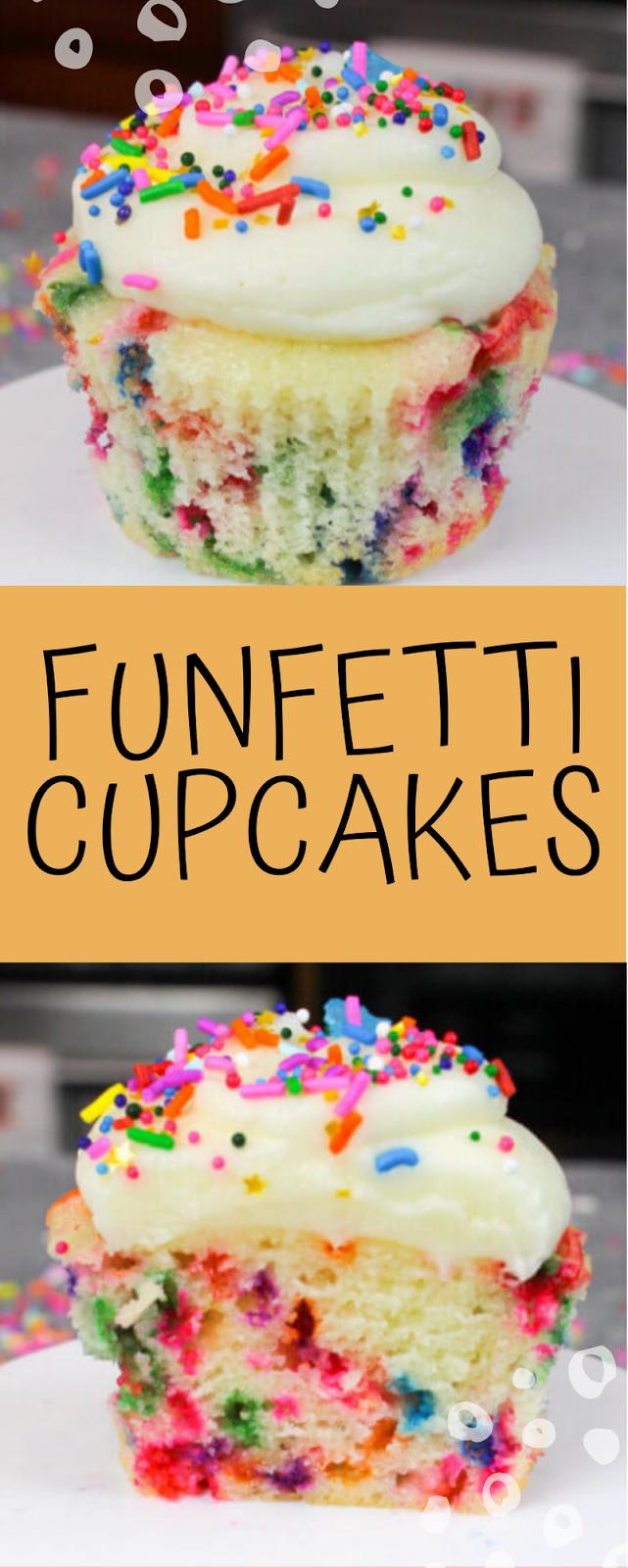 Funfetti Cupcakes Aurorafoods Funfetti Cupcakes Cupcake Recipes Fun Cupcake Recipes