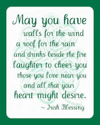 Irish Love Quotes Wedding Brilliant 17 Irish Blessingszealousmom Stpatricksday Irishblessing