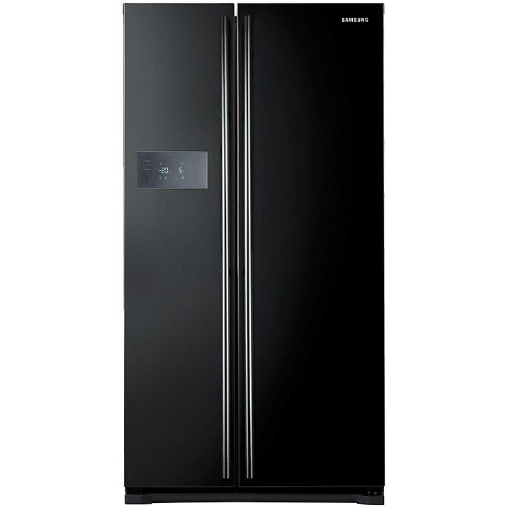 Samsung Rs7527bhcbc American Style Fridge Freezer Gloss Black In