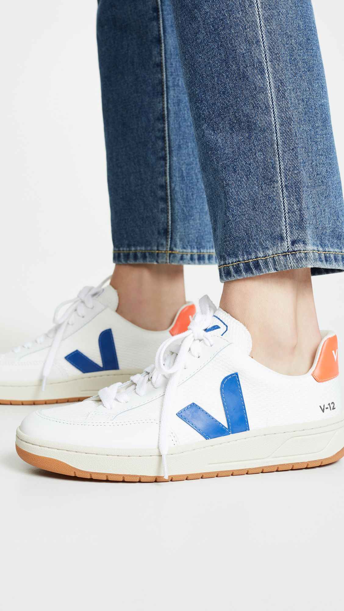 Veja V-12 Lace Up Sneakers in 2020