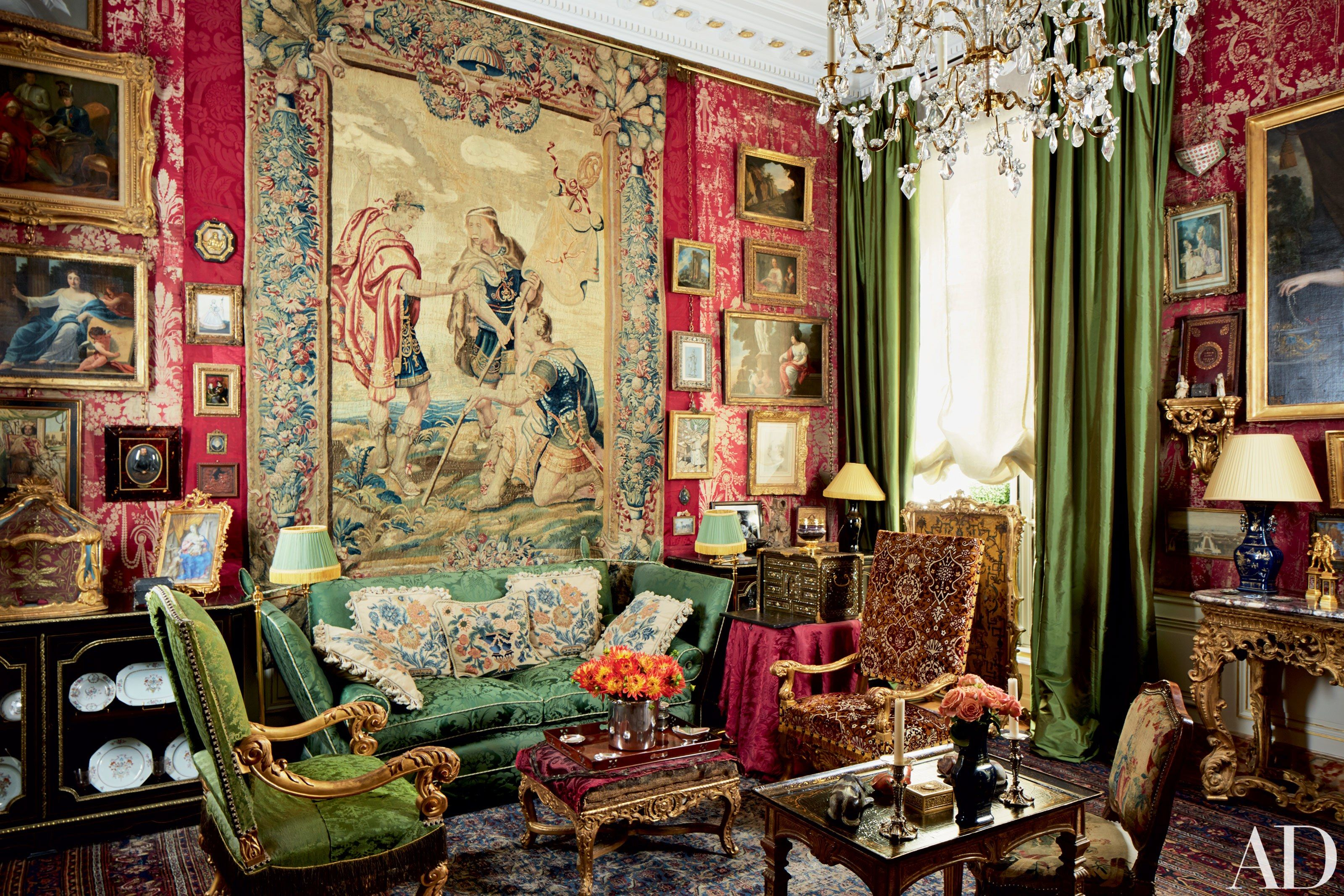 Jacques Garcia Conjures an Atmosphere of Opulence and Drama in an ...