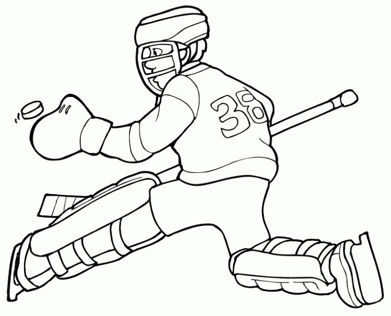 Kids printable Hockey coloring pages | Sports Coloring Pages ...