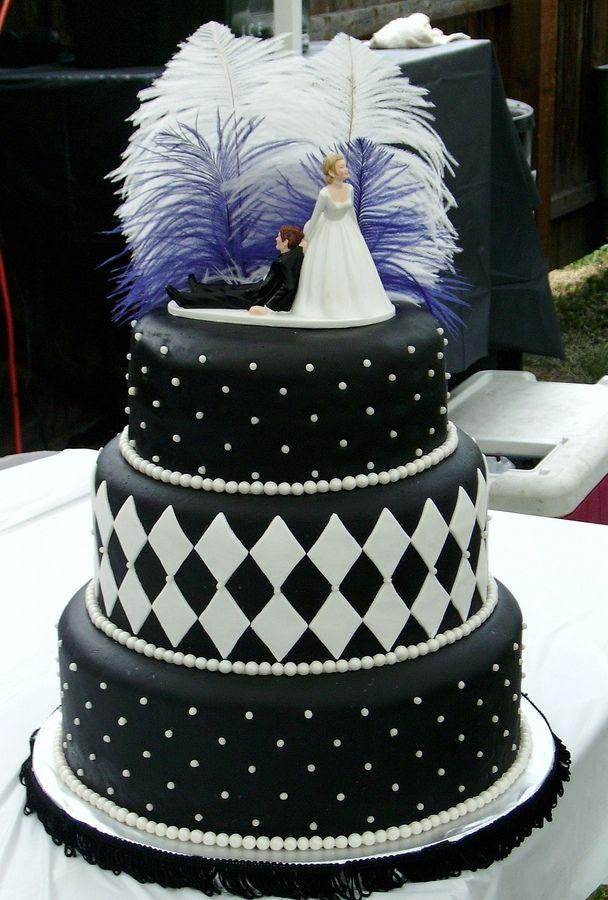 1920s style wedding cakes