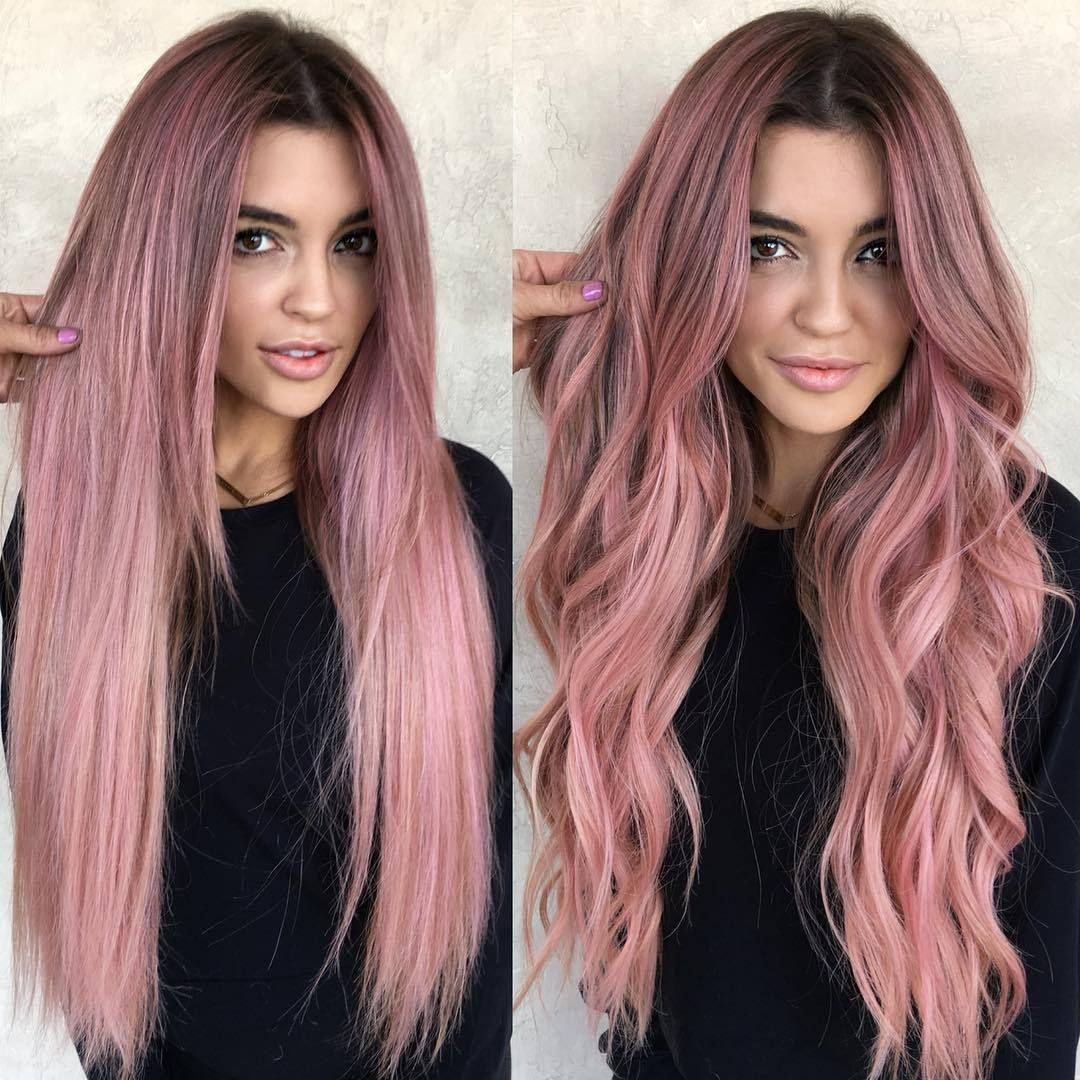 About The Product Hair Color Pink Weight 160g 200g Depends On The Length Of The Hair Hair Color Same As Image Hair Color Pink Long Hair Styles Hair Styles