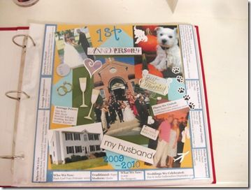 Anniversary scrapbook neat idea love it just don t know if id