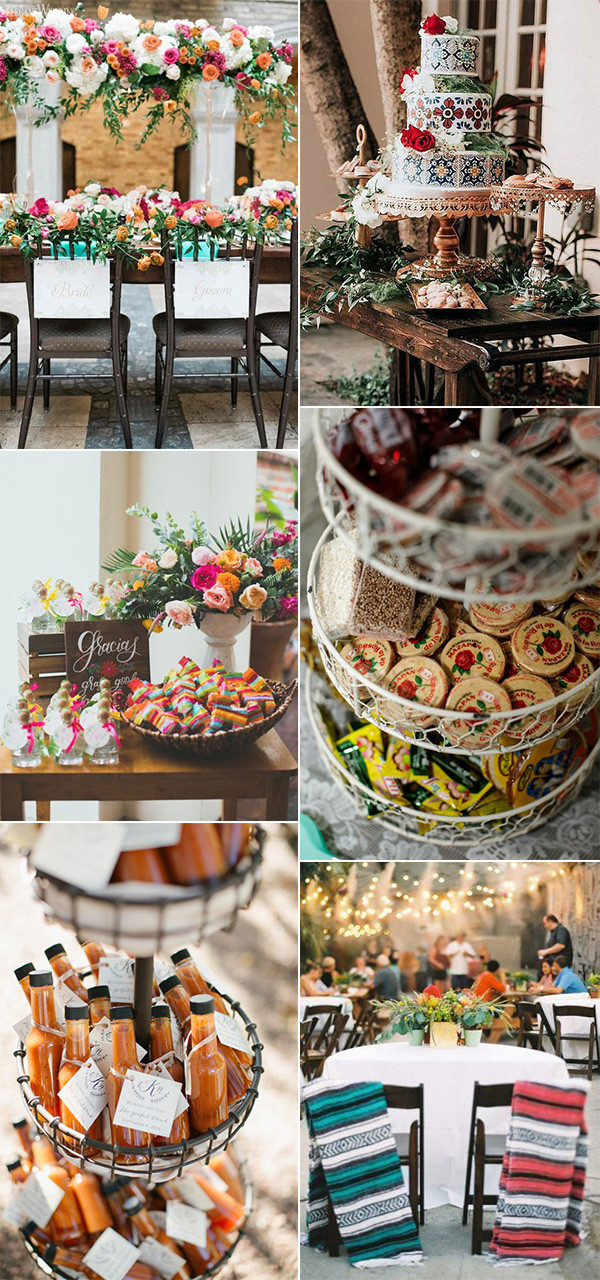 15 Cheerful And Colorful Mexican Themed Wedding Ideas Oh Best Day Ever In 2020 Mexican Wedding Decorations Mexican Themed Weddings Mexican Inspired Wedding