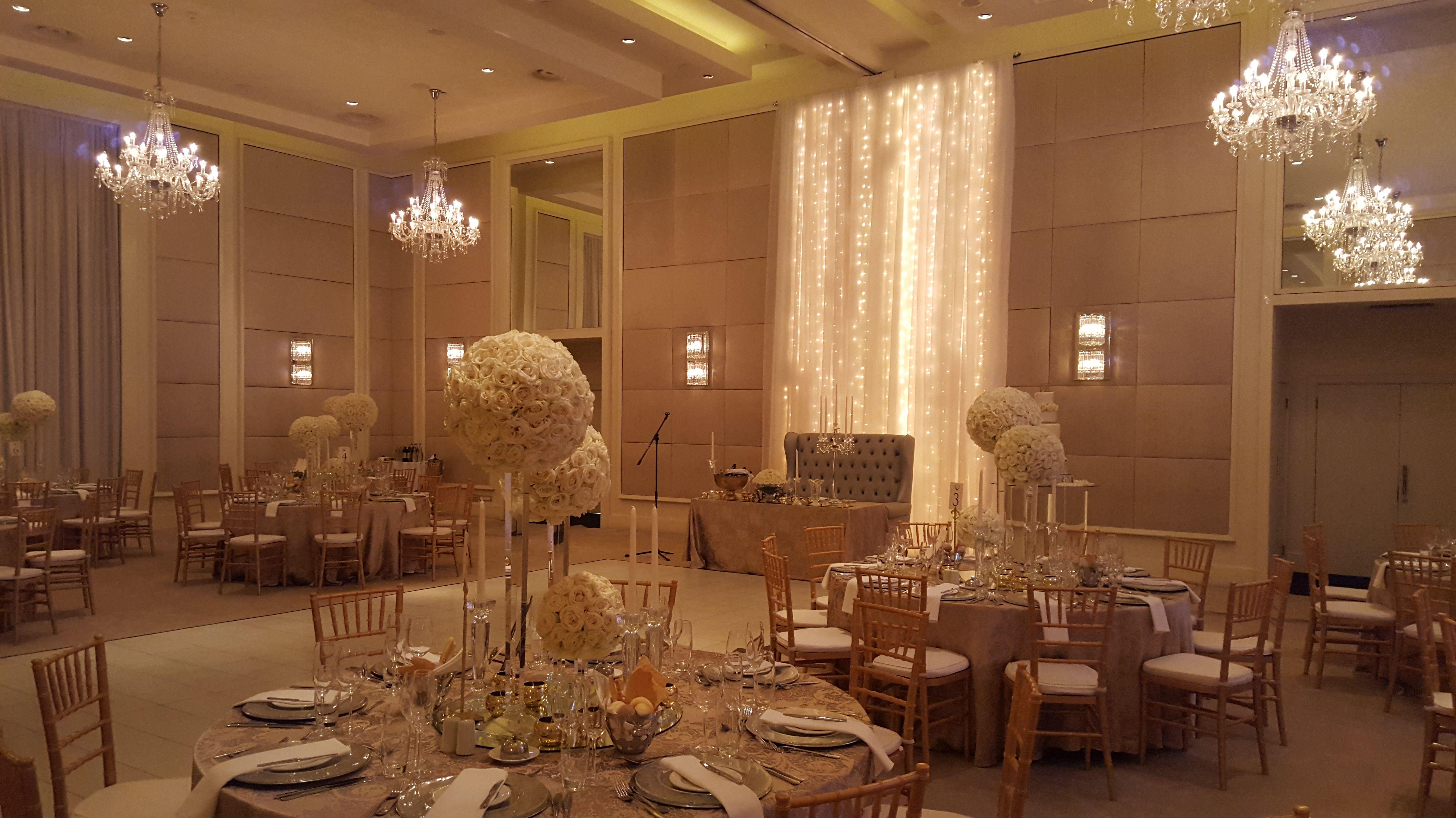 Gold, Silver & Crystal Ballroom