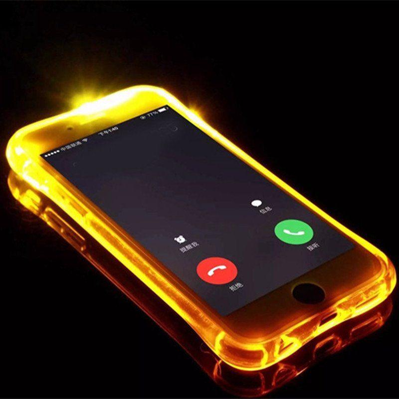 Coques téléphone lumineuse Flash Light pour iPhone 7 et 7 Plus ...