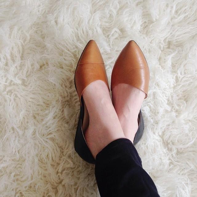 Franco Sarto Hawk Two Piece Pointed Toe Flats - Flats - Shoes - Macy's