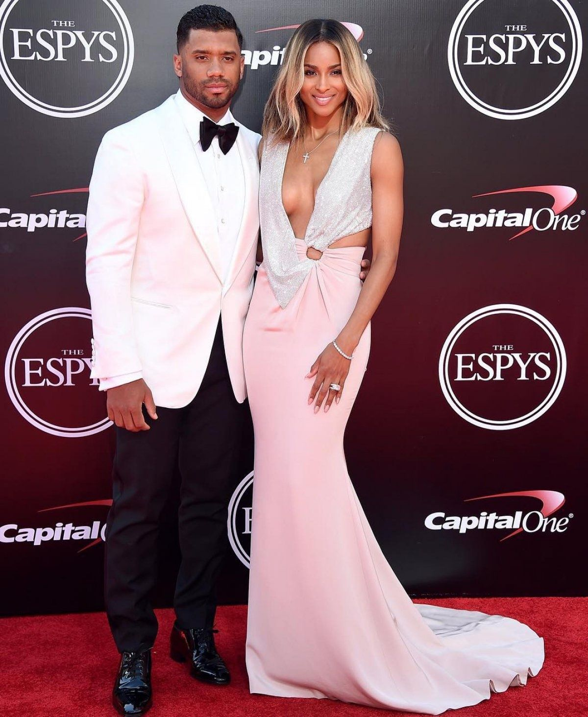 Ciara and Russell Wilson attend ESPY Awards after honeymoon ...