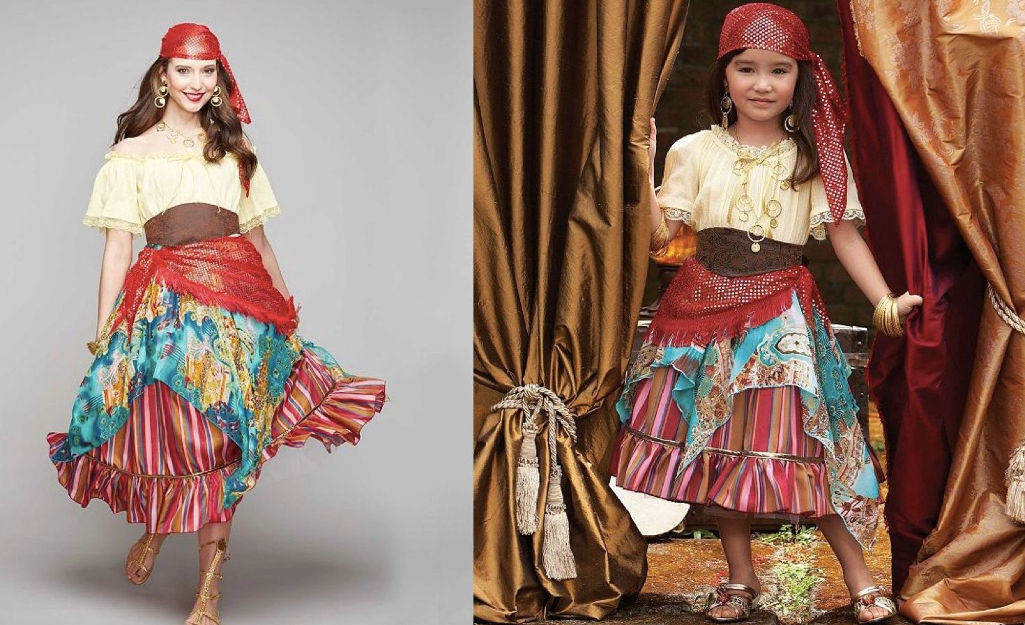 Mother Daughter Matching Fortune Teller Costumes | Moms
