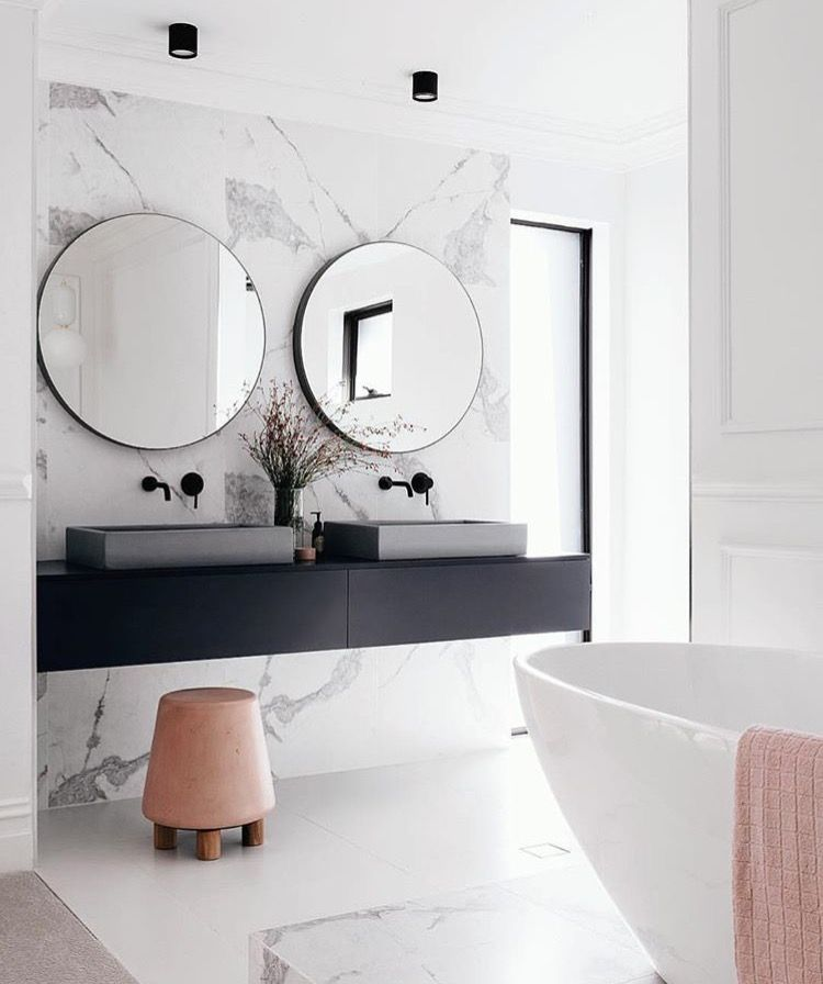 bathroom marble wall vessel sinks Tap the link now to see where