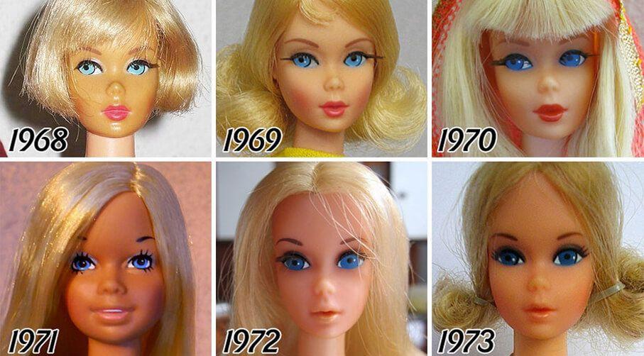 barbie 50 jaar Barbie in de afgelopen 50 jaar | What we see | Pinterest | Hoe barbie 50 jaar