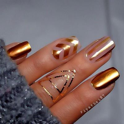 20 Coolest Striped Striped Nail Art Designs And Ideas Nail Art