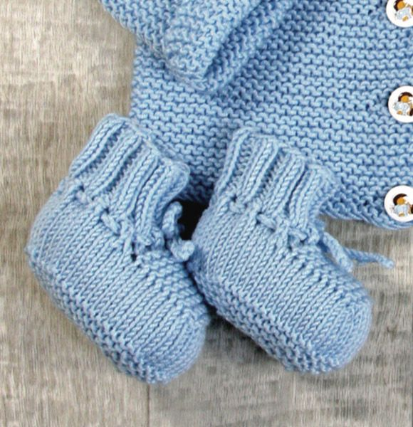 Photo of Babyschuhe stricken mit unserer Strickanleitung
