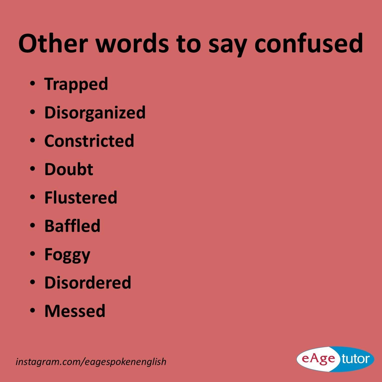 other words to say confused language confused  other words to say confused